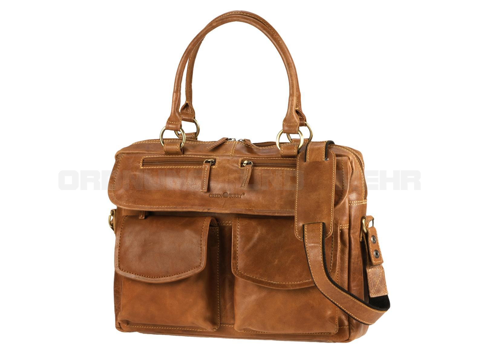 Greenburry Damen Business Ledertasche 564-24 Expedition