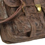BILLY THE KID Tasche Leder Umhängetasche Messenger MARK - Boden