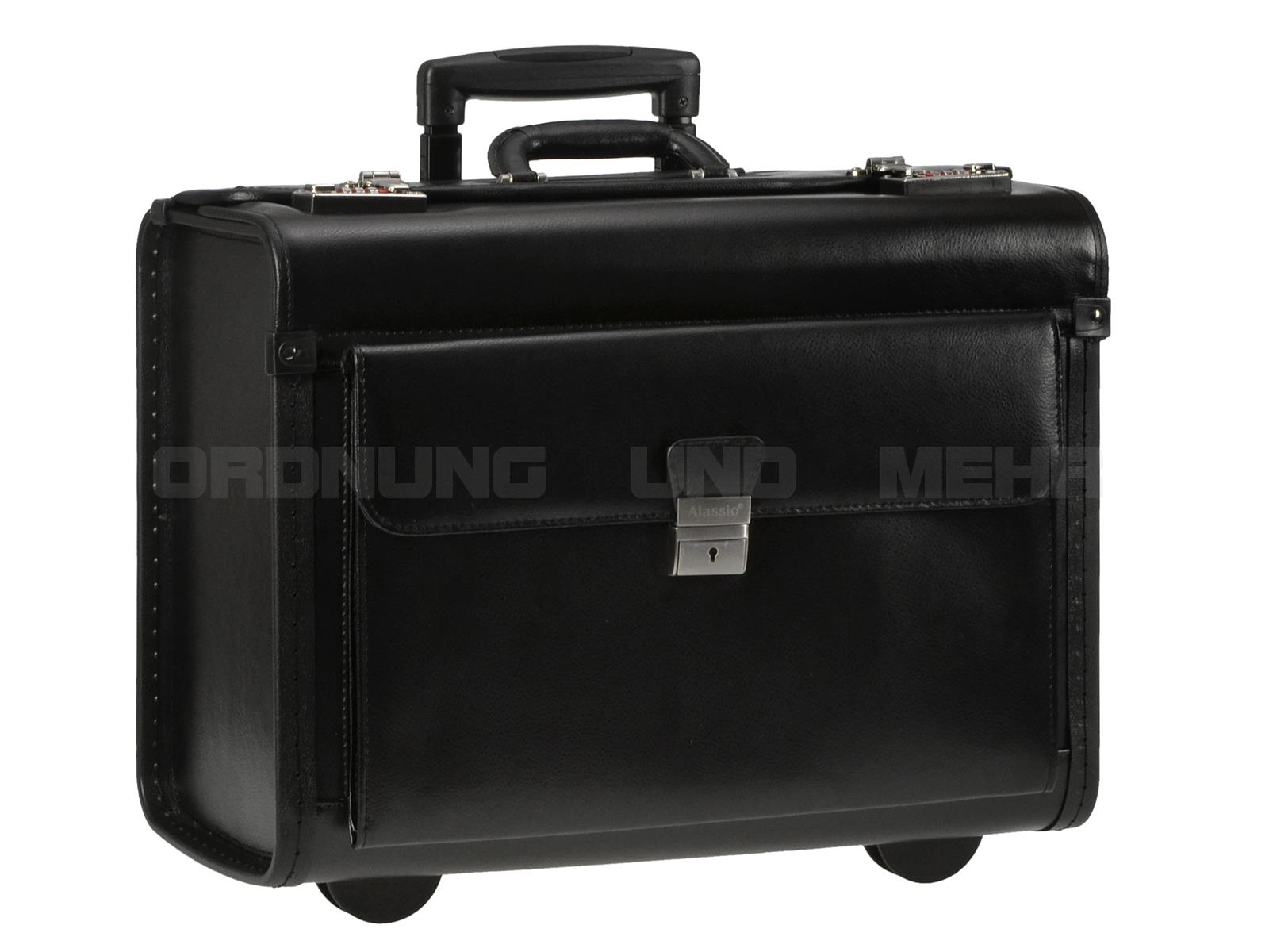 Alassio Business Trolley Silvana aus Leder