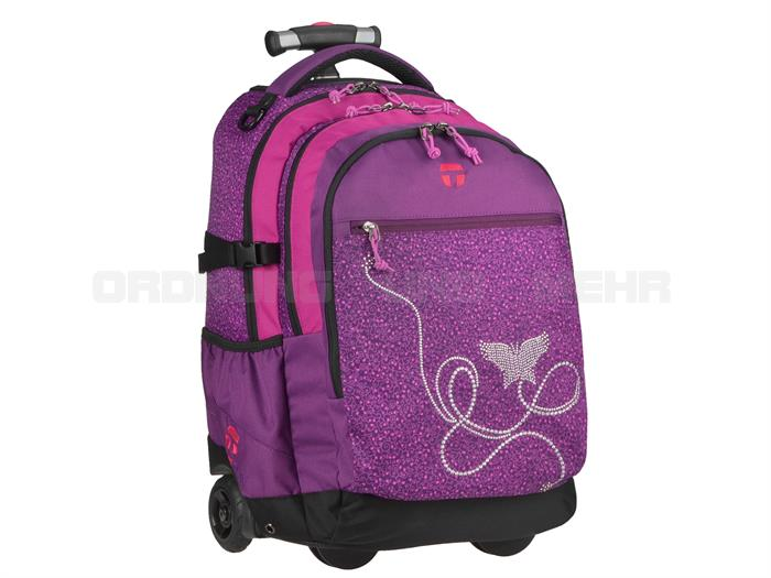 Take it Easy Rucksack Trolley MARLENE in lila 28045-364-059