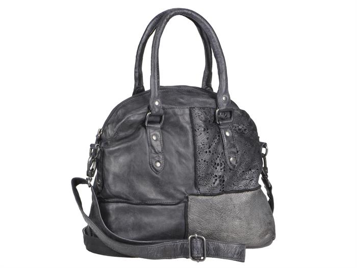 Billy the Kid BtK Handtasche Damen günstig im SALE Ledertasche anthrazite BTK-07-20
