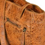 BILLY THE KID Shopper aus Leder die stylishe Tasche für Damen - Modell AVERY - detail