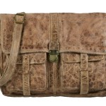 BILLY THE KID Tasche Leder Umhängetasche Messenger MARK - dust