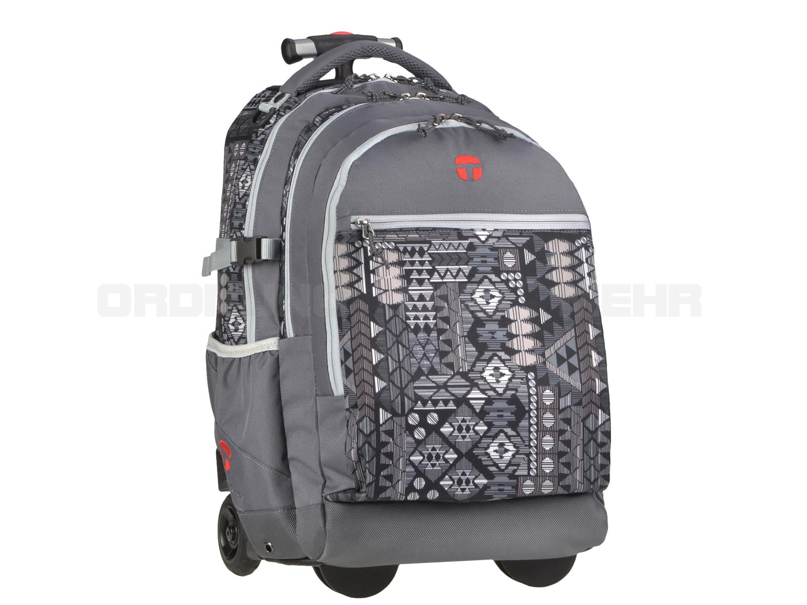 Take it Easy Rucksack Trolley AZTEC GREY in graun 28045-504-002